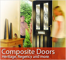 View information about our composite doors