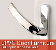 View the range of uPVC Door Furniture