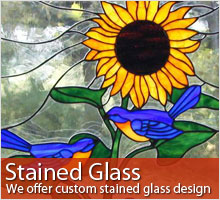 Click for more information about our stained glass windows