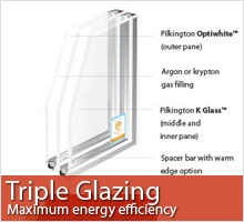 Click for more information about Triple Glazing