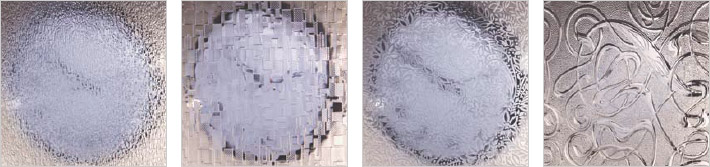 Examples of Obscure/Textured Glass